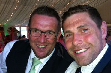 ian from IM Events meets Grant Holt