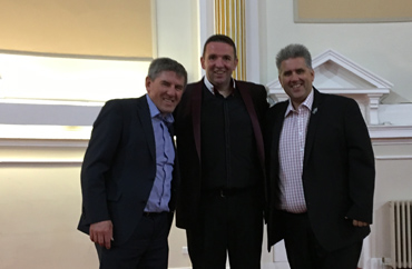 an evening with Peter Beardsley