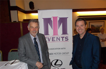 ian from IM Events meets geoff miller